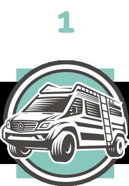 1 - choose your Roadventures van