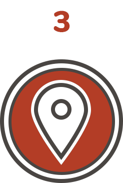 3 - Choose Roadventures pickup location
