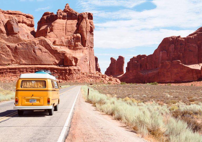 traveling rv