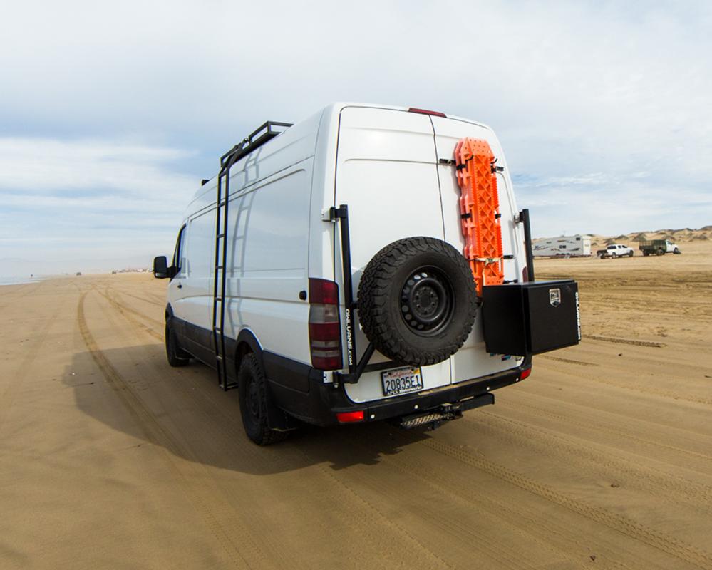 Roadventures Van Diesel Back
