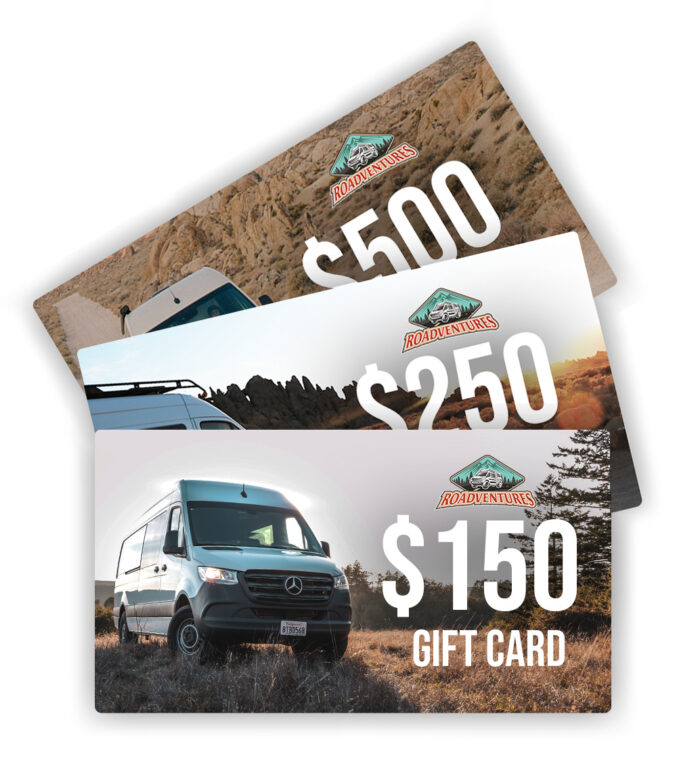 Roadventures Gift Cards